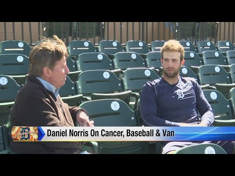 Tigers Pitcher Daniel Norris talks about baseball, cancer, his van