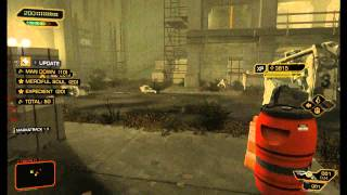 Deus Ex Human Revolution  Save Malik Nonlethal Takedowns
