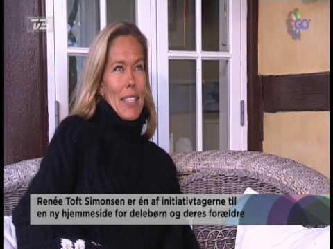 Renée Toft Simonsen og Thomas Helmig om delebarn.dk