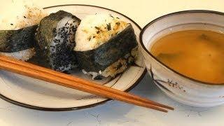 How To Make Japanese Rice Balls - Onigiri