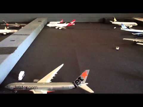 Updated 1:400 Melbourne Airport