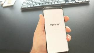 4/28/17 - Samsung S8 Plus not turning on, off or resetting - Verizon Boot Screen - Bricked