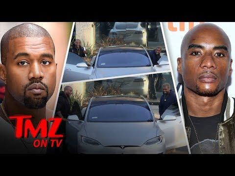 Kanye Samples His New Album! | TMZ TV