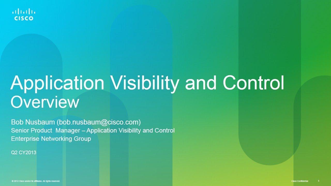 Cisco AVC And LiveAction Webinar