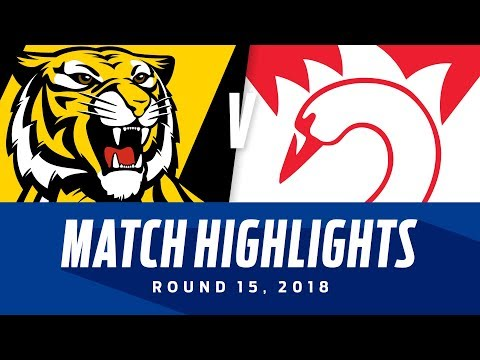 Richmond v Sydney Highlights | Round 15, 2018 | AFL
