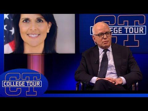 Michael Wolff over de mogelijke affaire tussen Trump en Nikki Haley   College Tour