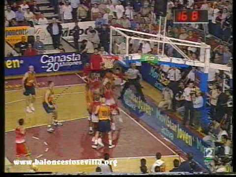 Final Caja FC Barcelona 1999
