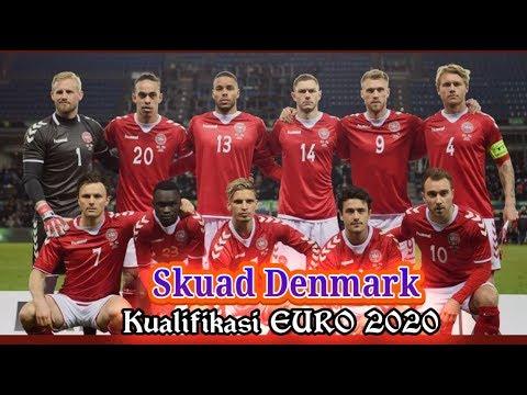 Skuad Denmark Kualifikasi EURO 2020