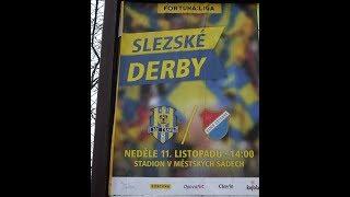 SFC Opava x Baník Ostrava - prezentace domácích fans
