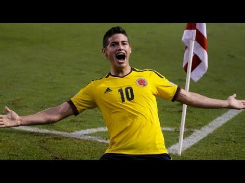 ハメス・ロドリゲス プレーまとめ / James Rodriguez Goals & Skills / Real Madrid