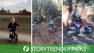 Toddlers Have Incredible Motocross Racing Skills