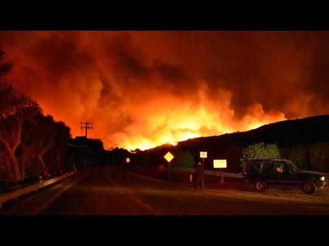 Southern California fire burning out of control
