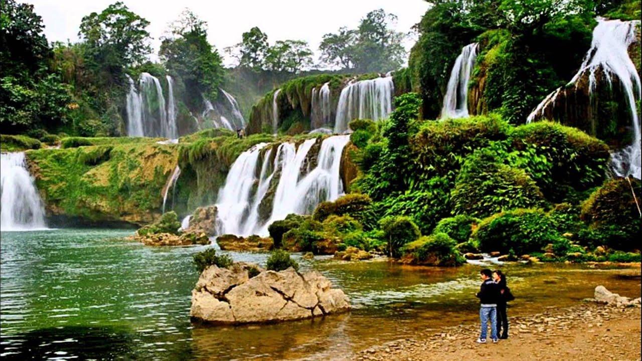 نتيجة بحث الصور عن ban gioc waterfall vietnam