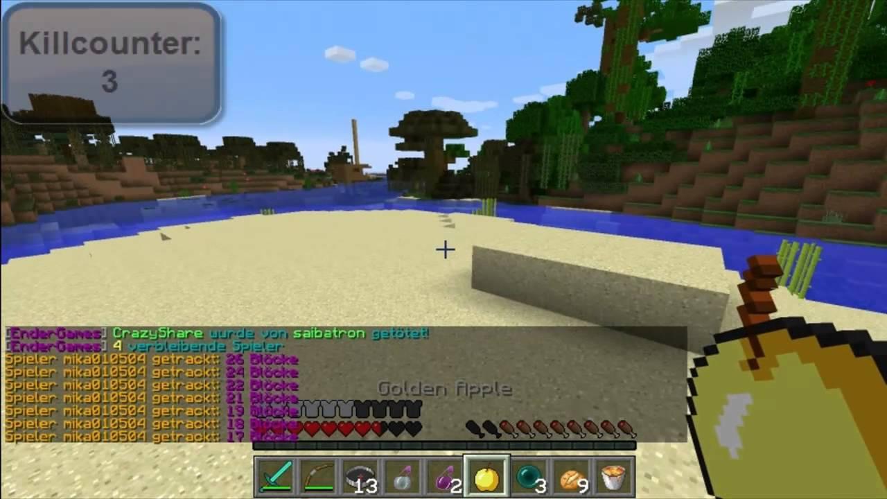 ENDER GAMES Dickes Schwert Lets Play Minecraft Ender Games - Minecraft endergames spielen