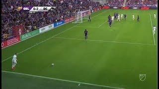 Wayne Rooney Incredible Free Kick Goal for D.C. United 31/03/2019