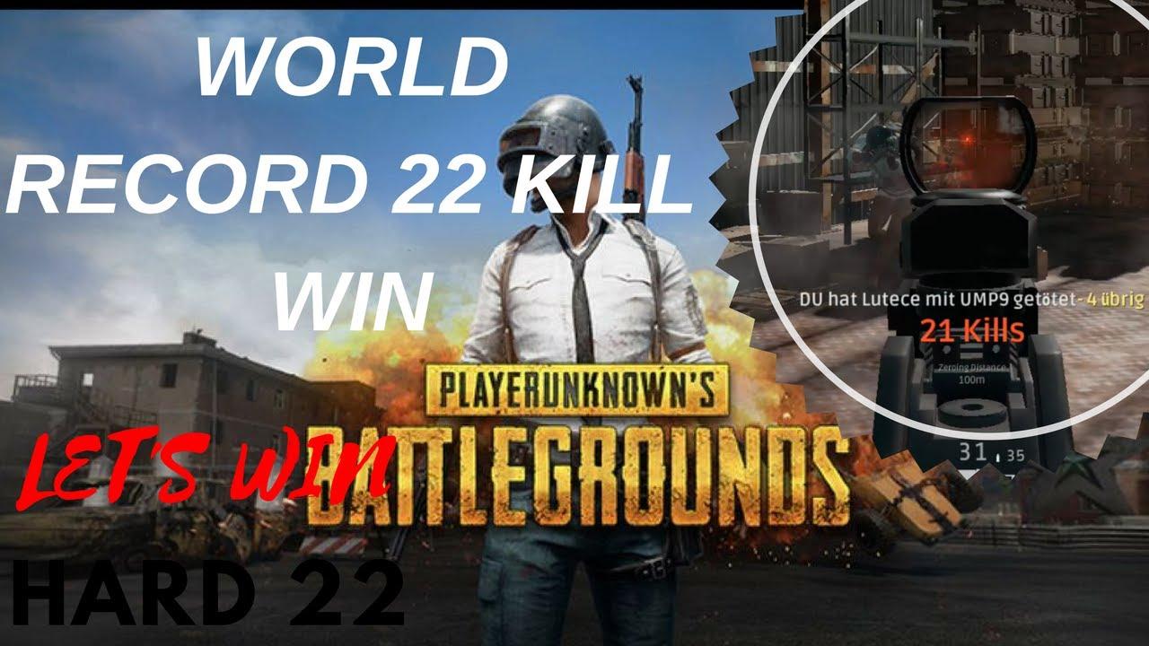 Record  Kill Win Playerunknowns Battlegrounds German Mein Bestes Spiel  Kills