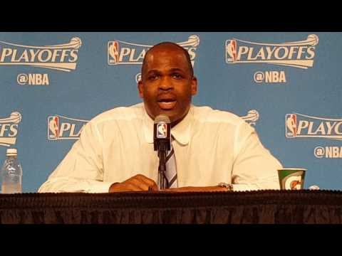 Coach McMillan Post Game 1 Interview   Cavs Pacers   4 15 17 2