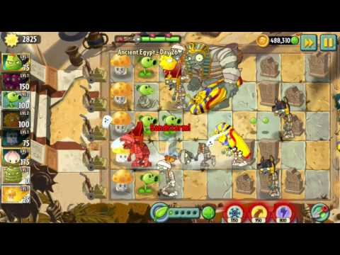 New Ancient Egypt Levels Day 26 | Plants vs. Zombies 2