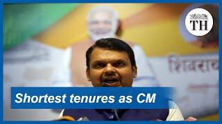 Fadnavis' Second CM Stint Among India's Shortest