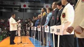 WKO SHINKYOKUSHINKAI THE 10th WORLD KARATE CHAMPIONSHIP Opening Cer...