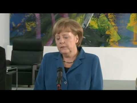 Meeting between President Barroso and Chancellor Merkel in Berlin, 4 June 2012