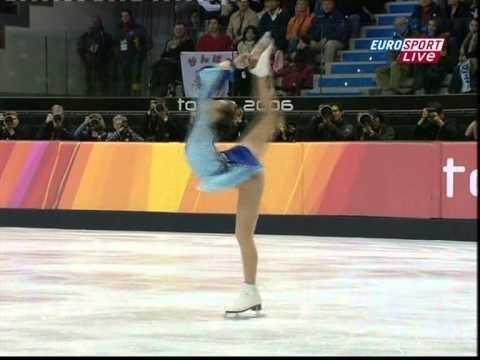 21 Shizuka ARAKAWA JPN 2006 Olympics LP (British Eurosport)