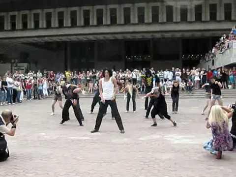 Jacksons Dancemob. Харьков 25.06.2010