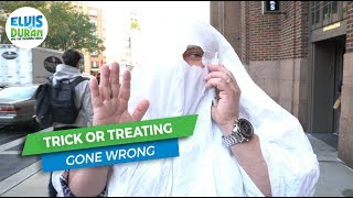 Trick Or Treating Gone Wrong | Elvis Duran Exclusive