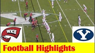 Western Kentucky vs BYU Football Game Highlights 10 31 2020
