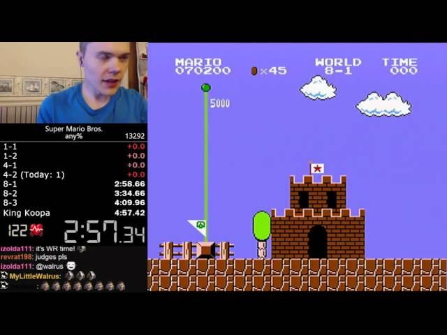 The latest Super Mario Bros  world record run shouldn't have