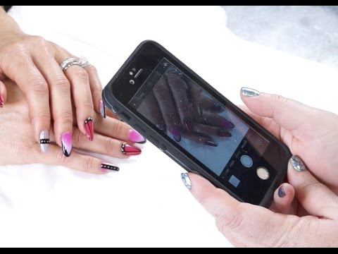 How To Take Better Pictures Of Nail Art With A Phone Youtube