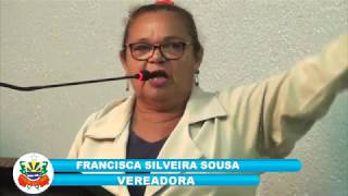 Francileide -Pronunciamento Câmara de Quixeré - 09-03-2018