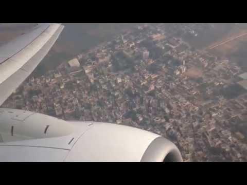 Jet Airways Flight 9W 829 Take-off from Indira Gandhi International Airport, New Delhi.