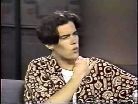 Dana Ashbrook on Late Night with David Letterman