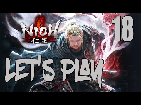 Nioh - Let's Play Part 18: The Silver Mine Writhes