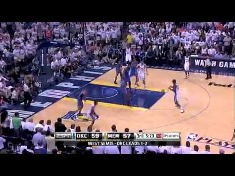 NBA Playoffs 2011  OKC Thunder Vs Memphis Grizzlies Game 6 Highlights 3 3
