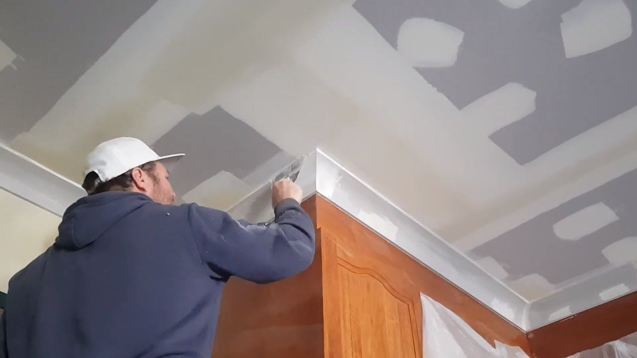 Fix Plasterboard Ceiling Sheets