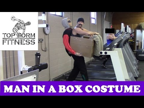Man In a Box DIY Illusion Costume  How to Make it Halloween