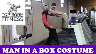 Man In a Box DIY Illusion Costume - How to Make it (Halloween) Mp3