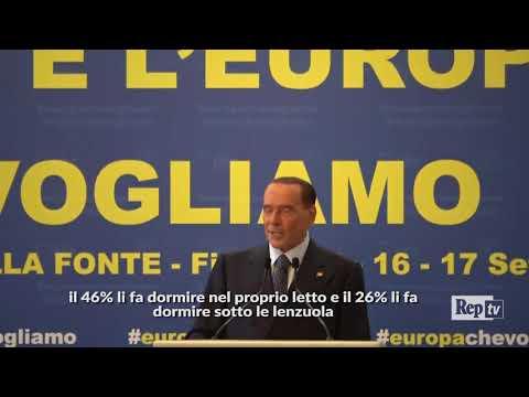 """Fiuggi, Berlusconi: """"Ho passato estate monacale, ma sono ancora un birichino"""""""