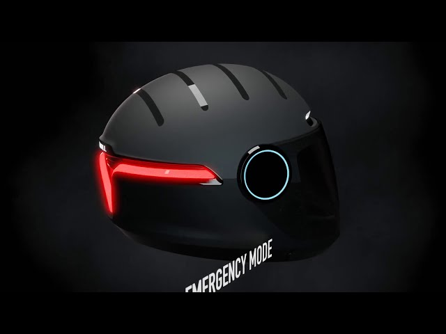 Is this the future of Motorcycle helmets? The Livall Smart Helmet. Mirror from second channel RevsIT