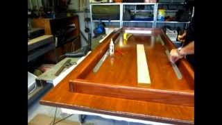 Woodworking. Building A Basic Table/computer Desk - Part 7