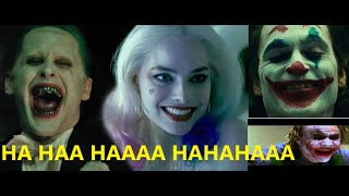 The Best Joker Laugh : Heath Ledger vs Jared Leto vs Joaquin Phoenix : Ultimate Compilation
