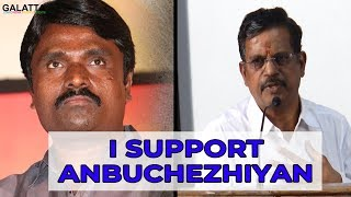 It's Sasikumar's Mistake, Not Anbuchezhiyan's | Kalaipuli S Thanu Sparks Controversy