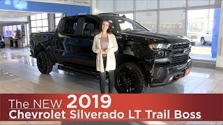 All-New 2019 Chevrolet Silverado LT Trail Boss - Mpls, St Cloud, Monticello, Buffalo, Rogers, MN
