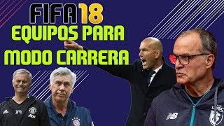 FIFA 18: 7 Equipos para tu Modo Carrera