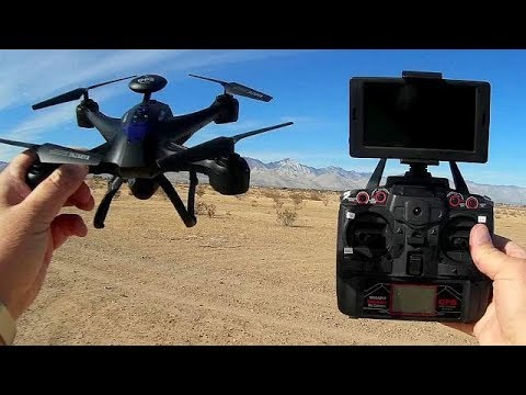 Xinlin X191 Follower GPS FPV Camera Drone Flight Test Review
