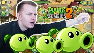 №343: МОИ ГОРОХОМЕТЫ в Растения против Зомби 2(Plants vs. Zombies 2: It's About Time) #2