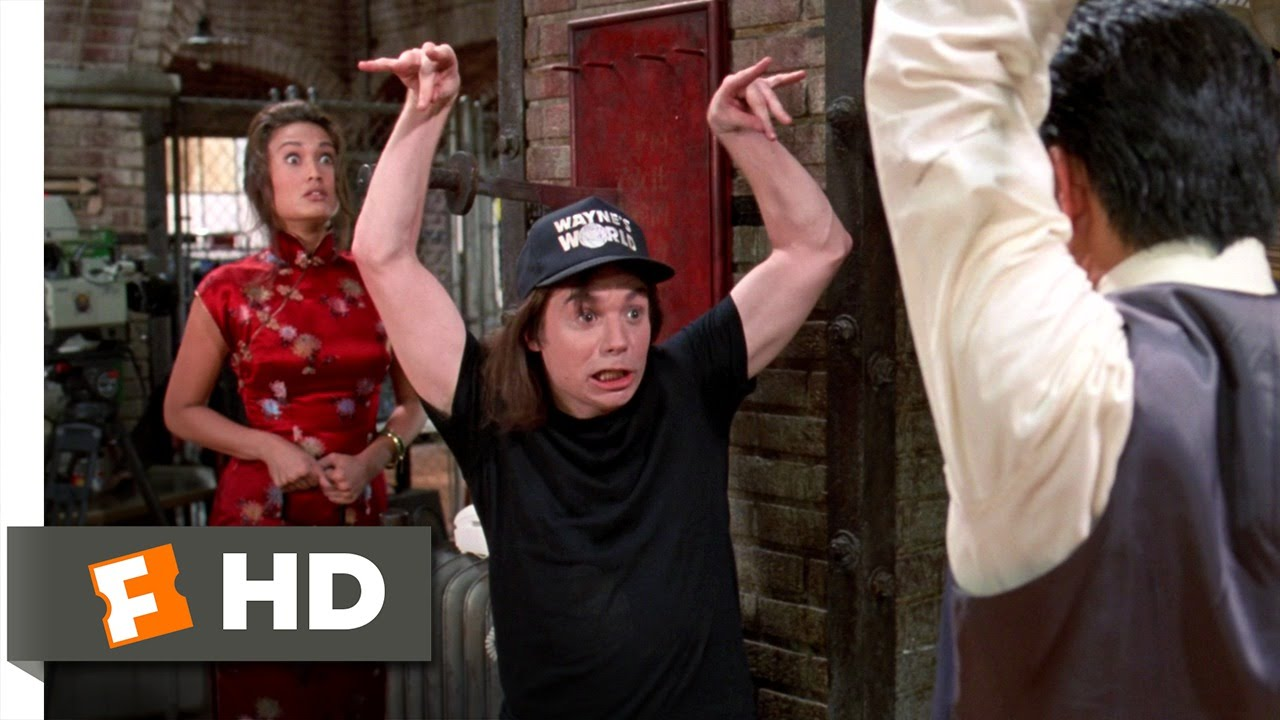 0c987351 Wayne's World 2 (7/10) Movie CLIP - Fighting Cassandra's Dad (1993) HD -  YouTube