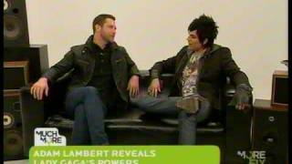 Adam Lambert on The Daily Fix (Part 1 of 2)